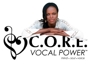 Dot Todman with C.O.R.E. Logo